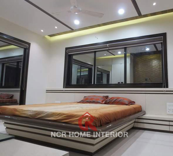 Bed Design Interior in Bhiwadi 12